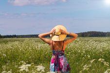 Free Young Woman Enjoying Nature Royalty Free Stock Image - 14954896