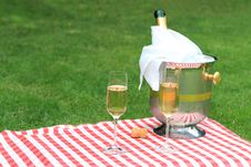 Champagne For Two Royalty Free Stock Photo