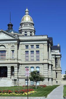 Free Cheyenne, Wyoming - State Capitol Stock Image - 14955671