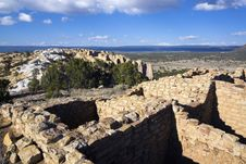 Free El Ruins In Morro National Monument Royalty Free Stock Photography - 14955687