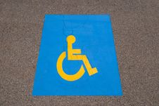 Free Handicap Symbol Royalty Free Stock Images - 14955719