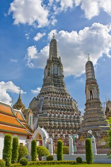 Free Wat Arun Stupa Stock Photos - 14955743