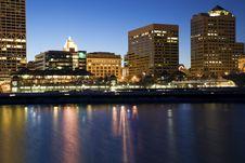 Free Downtown Milwaukee Buildings Royalty Free Stock Image - 14955776