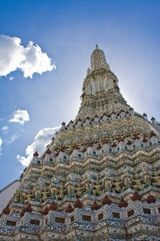 Free Wat Arun S Stupa Stock Photo - 14956000
