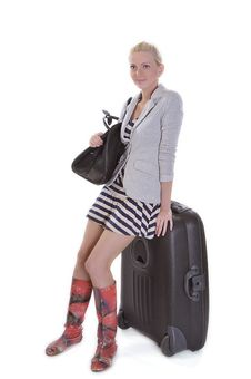 Free Travel Woman Royalty Free Stock Photography - 14956577