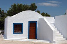 Free Santorini Church Stock Image - 14956671