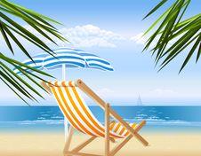 Free Peaceful Seaside View Royalty Free Stock Image - 14956846