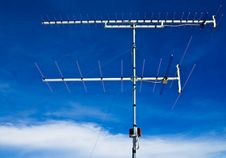 Free Old Style Television Antenna Royalty Free Stock Image - 14957946
