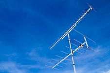 Free Old Style Television Antenna Stock Photo - 14957950