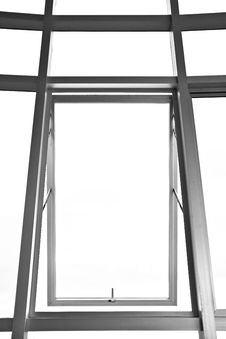 Metal Window Stock Image