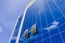Free Blue Sky And Office Building Royalty Free Stock Photo - 14958075