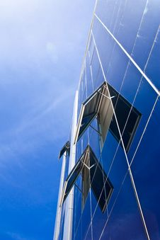 Free Blue Sky And Office Building Stock Image - 14958081