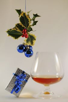 Free Christmas Drink Royalty Free Stock Image - 14958136
