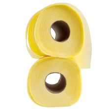 Free Roll Of Toilet Paper Yellow Royalty Free Stock Photography - 14958607