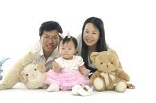 Free Asian Family Royalty Free Stock Images - 14958889