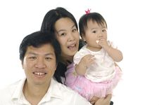Free Asian Family Stock Photo - 14958890