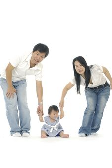 Free Asian Family Stock Images - 14958904