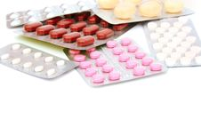 Free Medical Pills And Tablets Stock Photography - 14958912