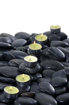 Free Spa Candle Stock Photo - 14958960