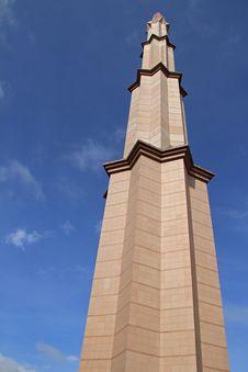 Putrajaya Mosque Minaret Stock Image