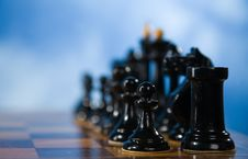 Free Chessmen On A Chessboard Stock Images - 14959554