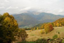 Free Autumn In Mountains. Royalty Free Stock Photo - 14959745