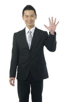 Free Asian Businessman Royalty Free Stock Photos - 14959798