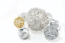 Free Decorative Balls Royalty Free Stock Photography - 14959907
