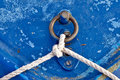 Free Old Blue Boat Line Royalty Free Stock Photo - 14963515