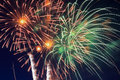 Free Firesworks In New York Royalty Free Stock Image - 14964946