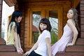 Free Three Female Friends Stock Photo - 14966610
