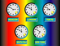 Free Time Clocks Stock Photos - 14967483