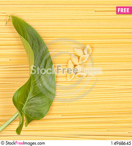 Free Uncooked Pasta Royalty Free Stock Photo - 14968645