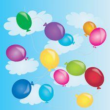 Free Balloons In Sky Stock Photos - 14960903