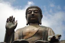 Free Hong Kong Tian Tan Buddha Stock Photography - 14962832