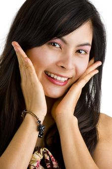 Free Beautiful Young Asian Stock Photo - 14963400