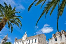 Free Mediterranean Architecture In City Of Trogir, Croa Royalty Free Stock Photo - 14963555