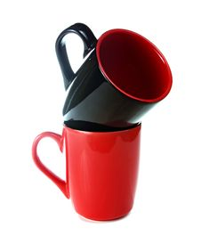 Free Black And Red Cup Stock Photos - 14964433