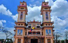Free Cao Dai Temple Royalty Free Stock Photos - 14964588