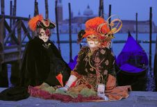 Free Venetian Mask Royalty Free Stock Image - 14964726