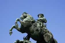 Free The Statue To Prince Eugene In Vienna Stock Photo - 14964830