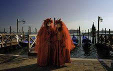 Free Venetian Mask Royalty Free Stock Photo - 14964835