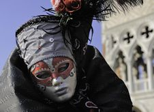 Free Venetian Mask Royalty Free Stock Photo - 14964845