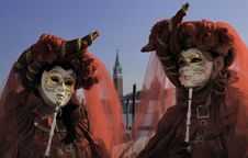 Free Venetian Mask Royalty Free Stock Photo - 14964855