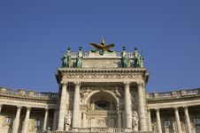 National Library Vienna Royalty Free Stock Images