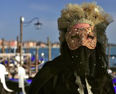 Free Venetian Mask Royalty Free Stock Image - 14964976