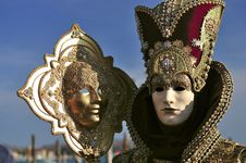 Free Venetian Mask Royalty Free Stock Photos - 14964998