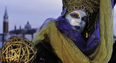 Free Venetian Mask Stock Photography - 14965042