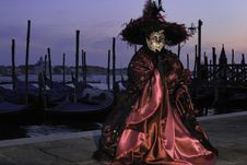 Free Venetian Mask Stock Image - 14965101