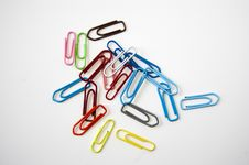 Free Paper Clips Stock Images - 14965154